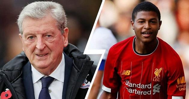 Roy Hodgson warns Rhian Brewster over possible Crystal Palace loan - Bóng Đá