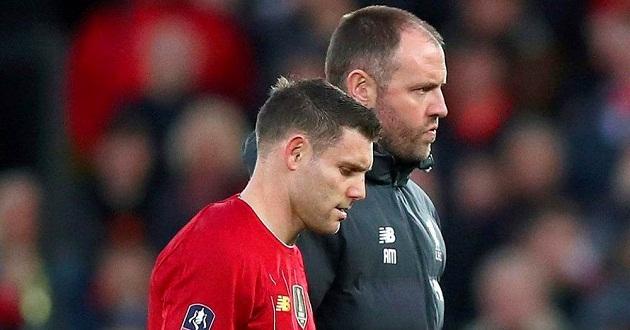 Klopp provides injury update on Milner: 'It's serious' - Bóng Đá