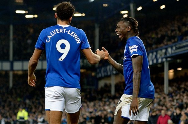 Dominic Calvert-Lewin on 'funny' Moise Kean situation as he offers advice to Everton striker - Bóng Đá