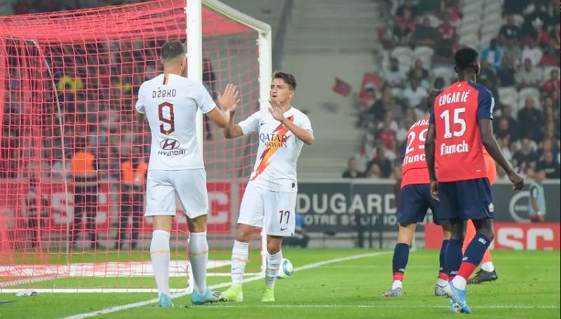 Ảnh trận Lille - AS Roma - Bóng Đá