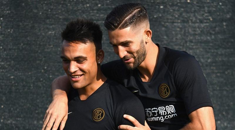 Ảnh Lukaku tập luyện cùng Inter Milan - Bóng Đá