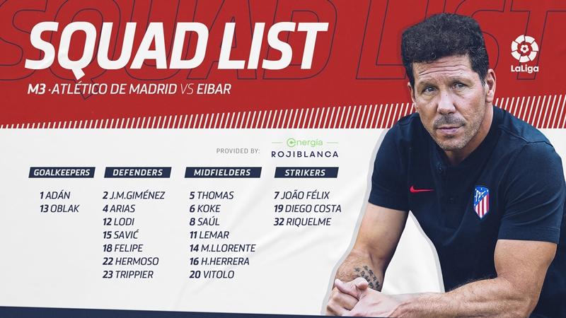 Danh sách đăng ký của Atletco Madrid không có tên Kalinic và Angel Correa - Bóng Đá
