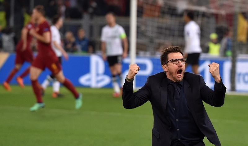 Eusebio Di Francesco và những năm tháng không thể quên với AS Roma - Bóng Đá