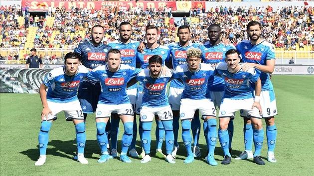 Ảnh trận Lecce - Napoli - Bóng Đá