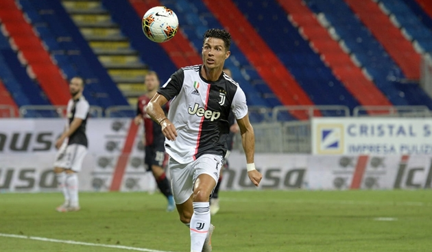 Cãi lời Sarri, Ronaldo nhận cái kết đắng cùng Juve - Bóng Đá