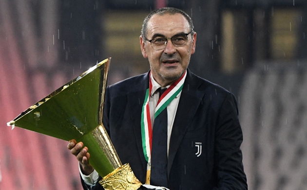 Bất chấp kết quả Champions League, Sarri vẫn tiếp tục gắn bó với Juve - Bóng Đá