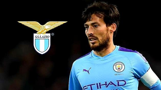 David Silva chuẩn bị gia nhập Lazio - Bóng Đá