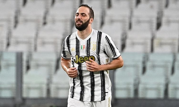 Chai mặt, Higuain quyết tâm ở lại Juventus - Bóng Đá