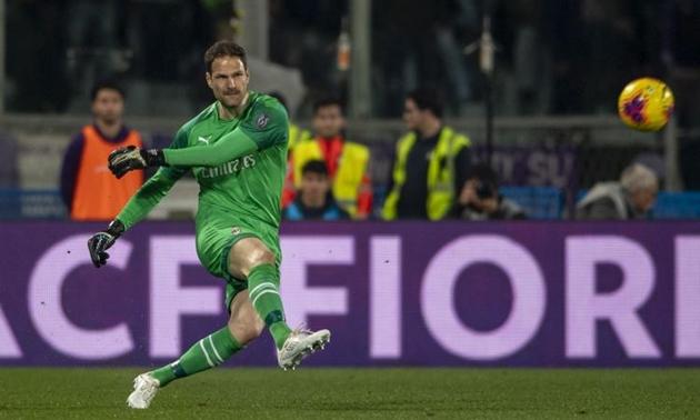 AC Milan sắp mua đứt Begovic - Bóng Đá