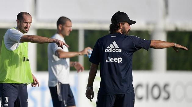 Ảnh Juventus tập 26.8 - Bóng Đá