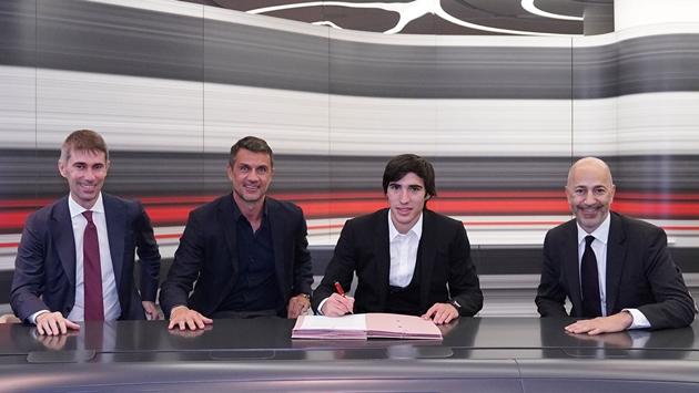 CHÍNH THỨC: Sandro Tonali chuyển đến AC Milan - Bóng Đá
