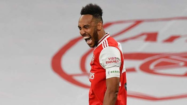 Pierre-Emerick Aubameyang to sign new three-year contract with Arsenal - Bóng Đá