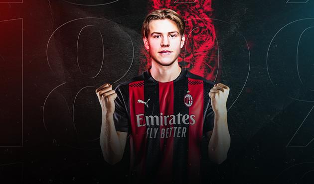CHÍNH THỨC: Jens Petter Hauge gia nhập AC Milan - Bóng Đá