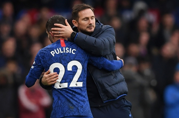 Frank Lampard confirms Christian Pulisic boost after Chelsea winger's scan on hamstring - Bóng Đá