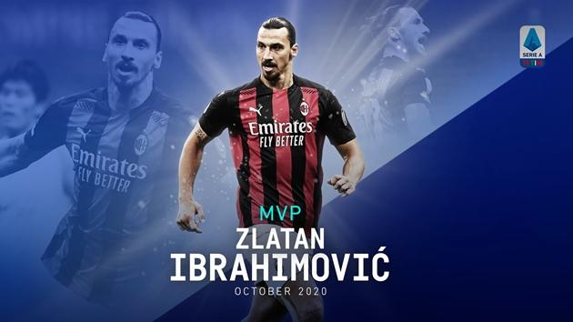 Ibrahimovic xuất sắc nhất tháng 10 - Bóng Đá