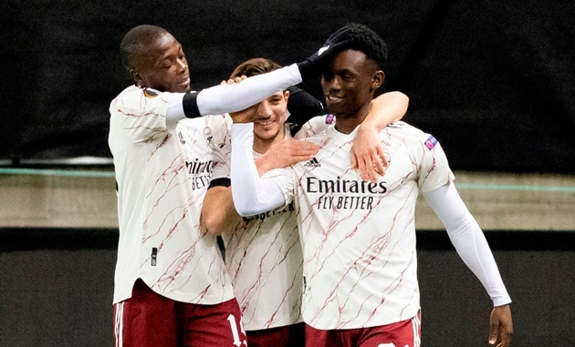 'Years of hard work now paying off' - Balogun happy after first Arsenal goal - Bóng Đá