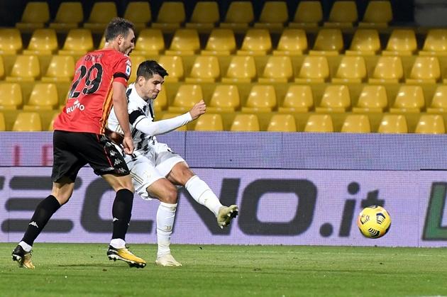 ảnh trận Benevento - Juve - Bóng Đá