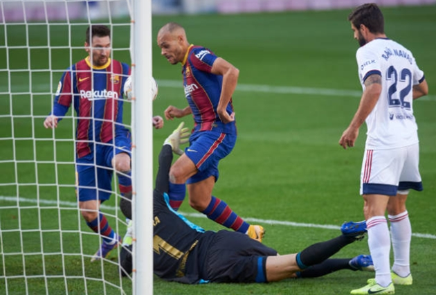 Ảnh trận Barca - Osasuna - Bóng Đá