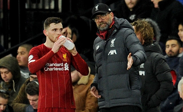 Liverpool's Andrew Robertson says players need help from authorities to manage 'hectic' schedule - Bóng Đá