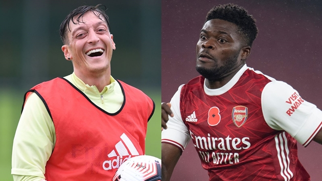 Paul Merson: Mesut Ozil can play for Arsenal because of Thomas Partey protection - Bóng Đá