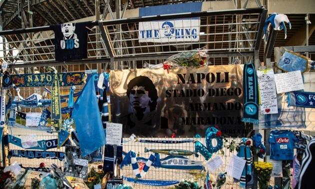 SỐC! Napoli bị phản đối vì đổi tên sân Diego Armando Maradona - Bóng Đá