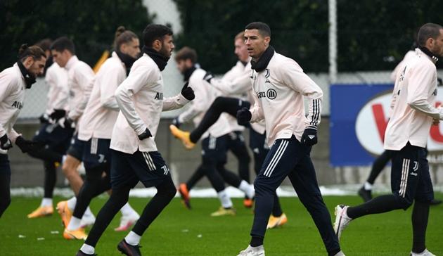 Ảnh Juventus tập - Bóng Đá