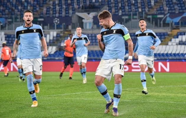 Lazio - Hiện tượng thú vị nhất vòng bảng Champions League - Bóng Đá