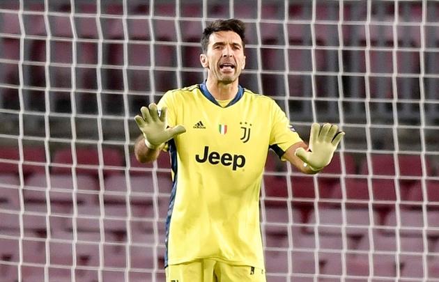 Buffon phấn khích với màn trình diễn trước Barca - Bóng Đá