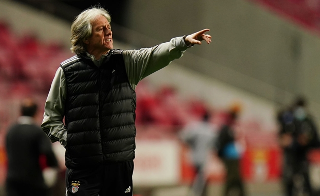 Jorge Jesus says he's not losing sleep ahead of facing Arsenal – If he can't beat Arteta's side then success in competition unlikely anyway - Bóng Đá