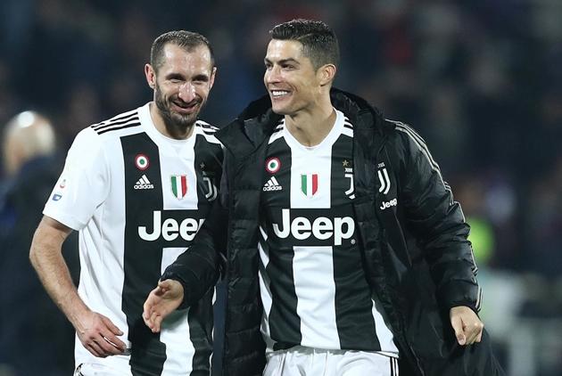 Giorgio Chiellini bầu Ronaldo, Lewy, Ramos - Bóng Đá