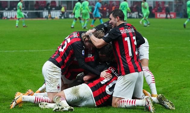 CĐV AC Milan ăn mừng - Bóng Đá