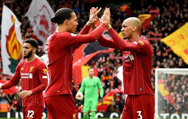 Fabinho comments hint at exciting Liverpool possibility when Virgil van Dijk returns - Bóng Đá