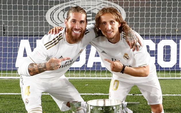 The two stars Real Madrid must renew after new Modric contract (Ramos, Vazquez) - Bóng Đá