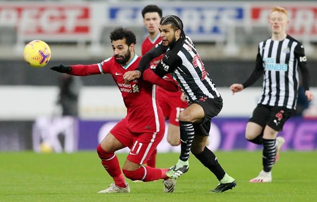 5 thống kê đáng chú ý sau trận Newcastle-Liverpool: Hàng công The Kop quá tệ - Bóng Đá