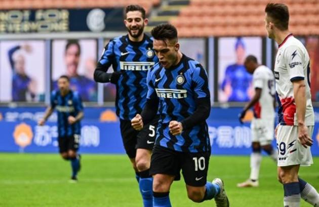 Đánh tennis trên sân nhà, Inter vươn lên dẫn đầu Serie A - Bóng Đá