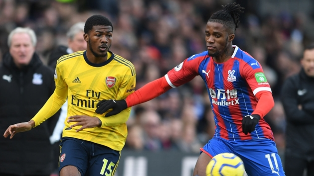 Crystal Palace news: Wilfried Zaha reveals when he stopped supporting Arsenal - Bóng Đá