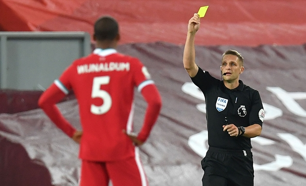 Liverpool find out referee appointment for Manchester United clash - Bóng Đá