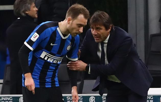 Conte khuyên Eriksen cần học theo Brozovic - Bóng Đá