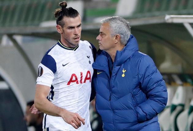 Jose Mourinho says Spurs have not discussed Gareth Bale's future - Bóng Đá