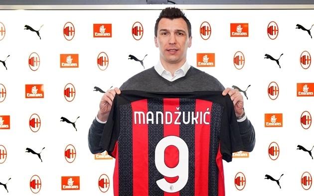 Mandzukic cảm ơn AC Milan - Bóng Đá