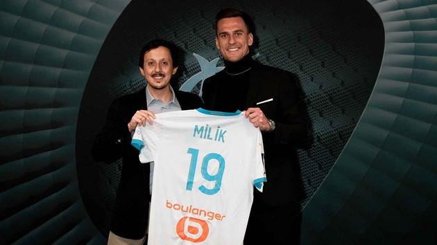 CHÍNH THỨC: Milik gia nhập Marseille - Bóng Đá