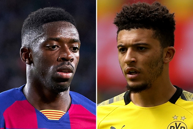 Man United 'will target Ousmane Dembele if Jadon Sancho bid fails' - Bóng Đá
