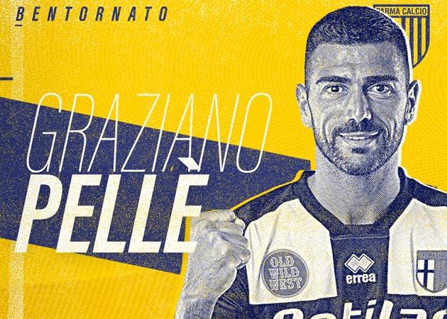 CHÍNH THỨC: Pelle gia nhập Parma - Bóng Đá