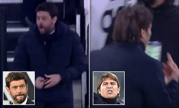 Conte bị Agnelli lăng mạ - Bóng Đá