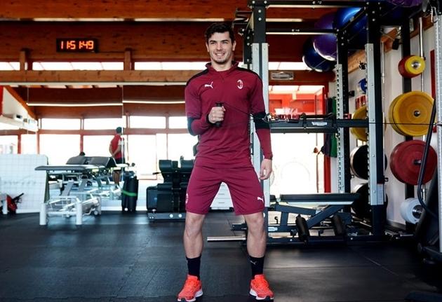 Ảnh AC Milan tập - Bóng Đá