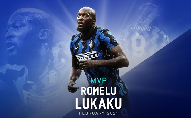 Lukaku xuất sắc nhất tháng 2/2021 - Bóng Đá