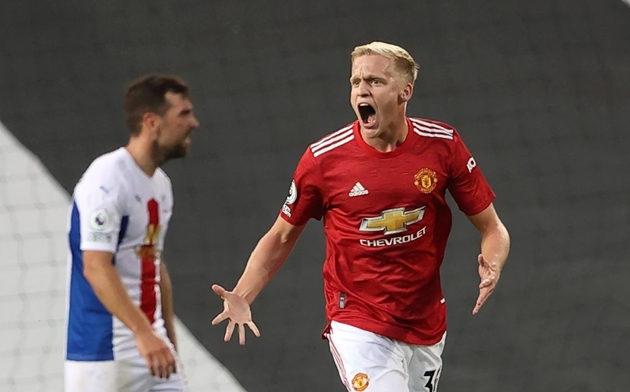 Three reasons Manchester United must start Donny van de Beek against Palace - Bóng Đá