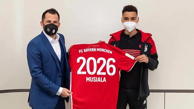 Musiala signs until 2026 - Bóng Đá
