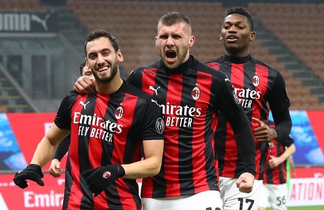 Milan mất Hakan + Rebic ở trận gặp Man Utd - Bóng Đá