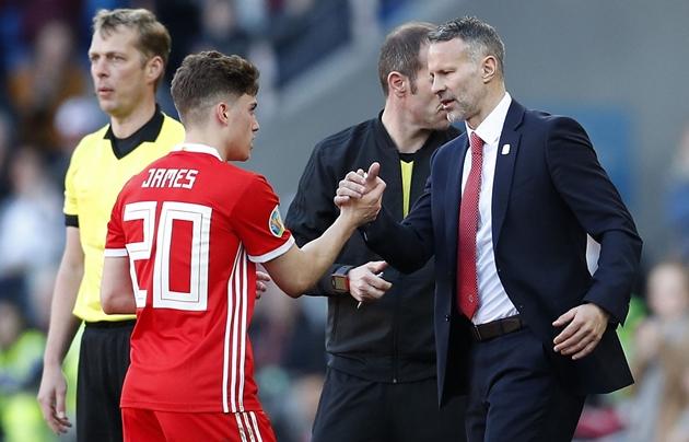 Daniel James reveals 'important' advice from Manchester United legend Ryan Giggs - Bóng Đá